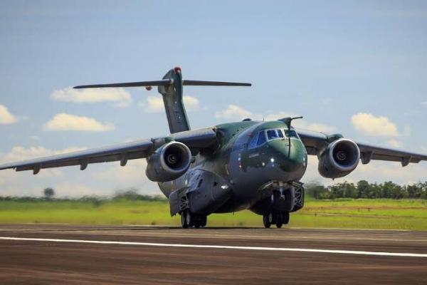 A atividade mostrou uma nova capacidade da FAB utilizando a maior aeronave militar fabricada na América Latina