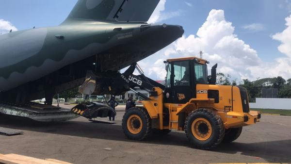 O destino de toda carga, que totaliza 76,5 toneladas, é para Estirão do Equador, no Amazonas (AM)