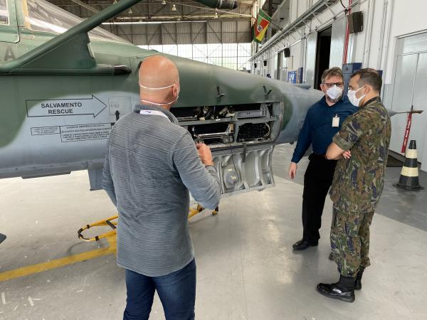 Os voos foram realizados durante a execução da Operação Íris, como foi denominada a segunda fase de ensaios de desenvolvimento do projeto.
