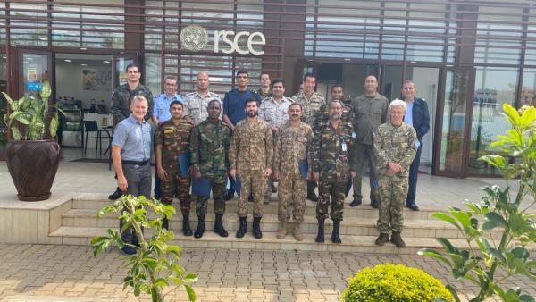 Evento foi realizado no Centro Regional de Serviço das Nações Unidas, em Entebbe, Uganda