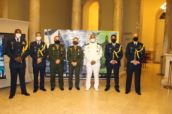 Durante a solenidade houve apresentação da Banda de Música da Base Aérea de Manaus (BAMN)