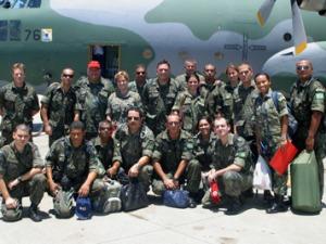 Vinte militares de saúde embarcam nesta quinta para integrar HCAMP no Haiti
