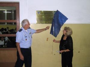 Descerramento de placa alusiva ao  Jubileu de Ouro