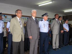 Autoridades participam da solenidade 50 anos CBNB