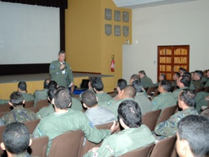 Briefing com Brig. do Ar Pinto  Machado