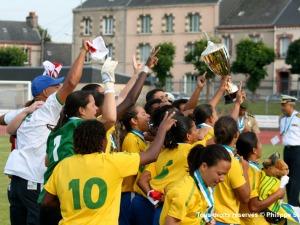 Brasil é bicampeão mundial militar de futebol feminino - Força Aérea ... 00a362075a69f