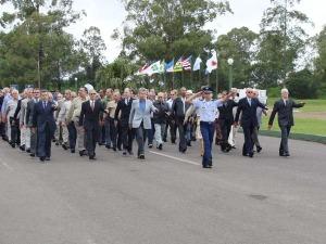 Desfile Militar com Especialistas da Reserva