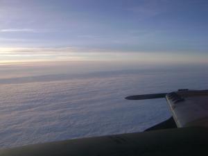 A-1 em missão de reconhecimento